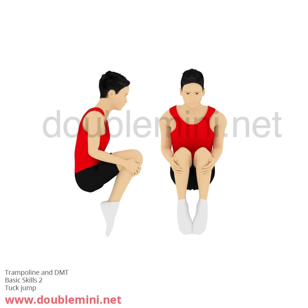 1000x1000 Gymnastics Clipart Tuck Jump