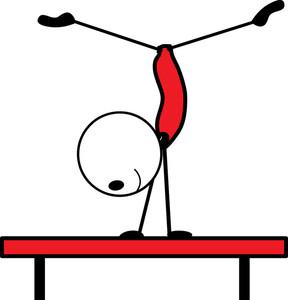 288x300 Gymnastics Clipart Vault Free Clipart Images