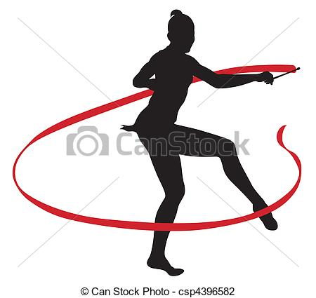 450x425 Ribbon Gymnastics Clipart, Explore Pictures