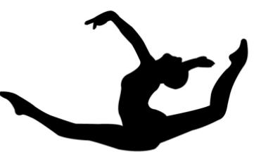 361x236 Tumbler Gymnastics Clipart
