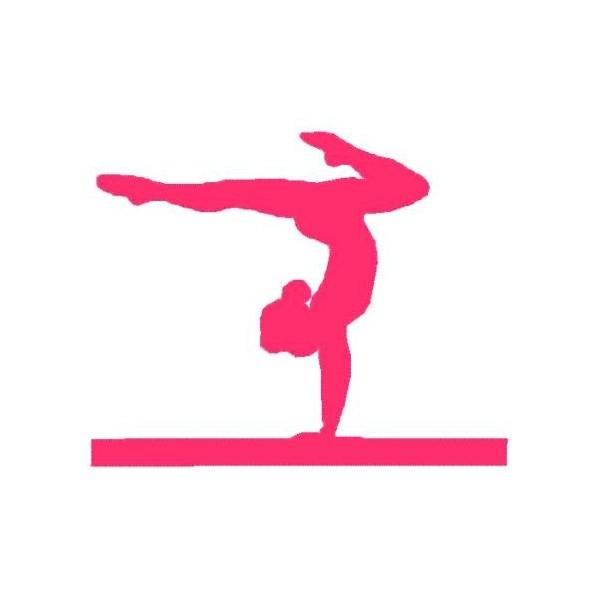 600x600 Gymnastics Clip Art