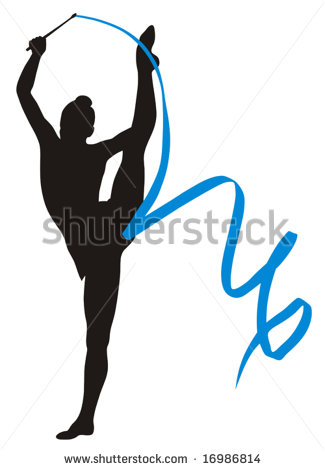 325x470 Rhythmic Gymnastics Clipart Ribbon