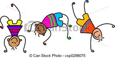 450x228 Gymnastics Clipart Children'S