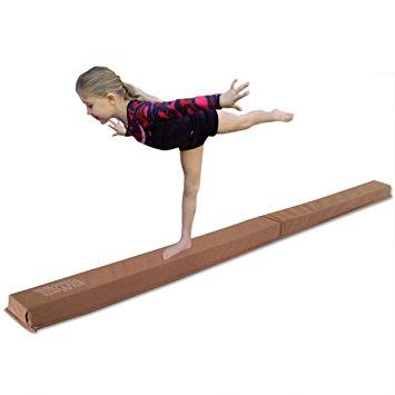 355x355 Gymnastics Balance Beam, 9' Folding Floor Balance