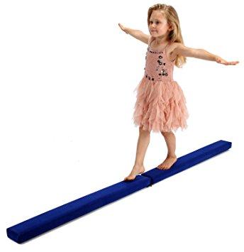 344x355 Powerfly 7ft Gymnastics Balance Beam 7 Feet