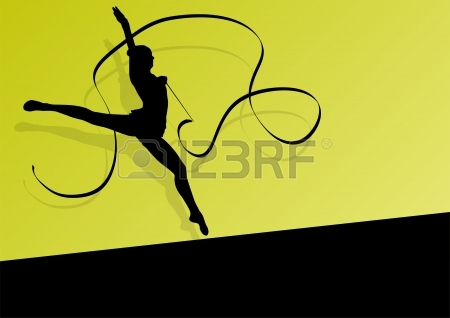 450x318 6,423 Gymnast Cliparts, Stock Vector And Royalty Free Gymnast