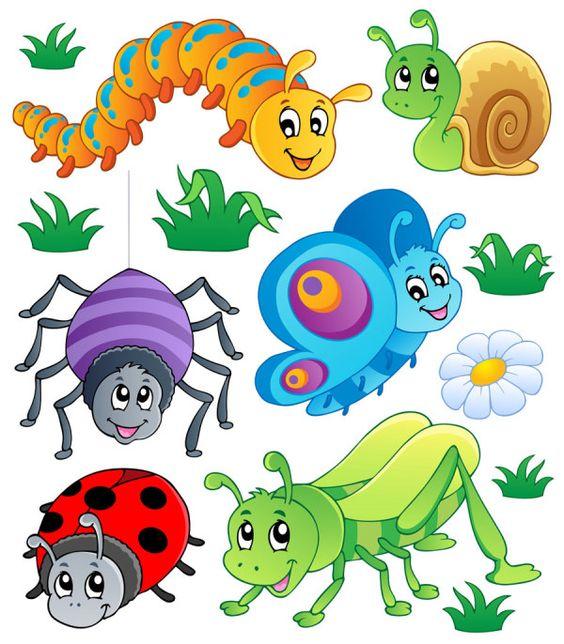 564x644 Caterpillars Vector Cartoon Animals 123 Clip Art