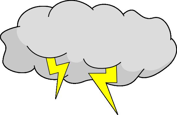 600x393 Thunder Clipart Rainstorm