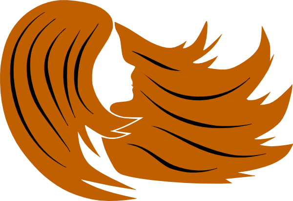 600x411 Red Hair Clip Art