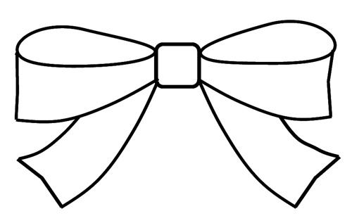 500x317 Clip Art Hair Bow Clipart 2