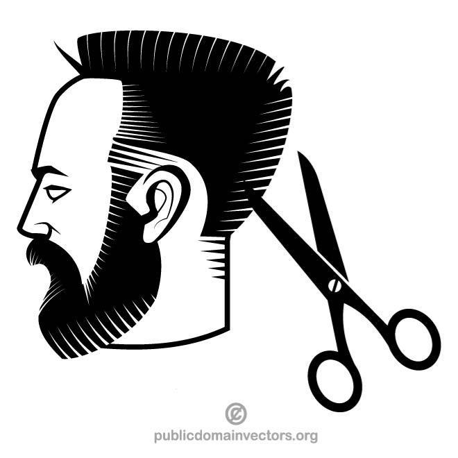 660x660 Haircut Clip Art