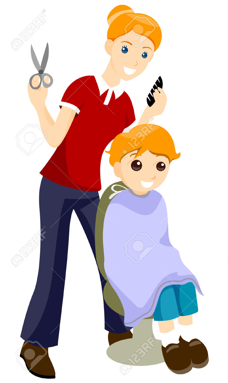 773x1300 Hair Cut Clip Art