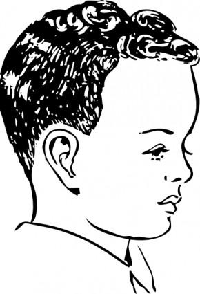 290x425 Haircut Clip Art Download
