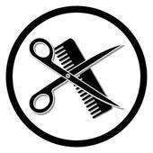 170x170 Haircut Or Hair Salon Symbol Clipart Panda