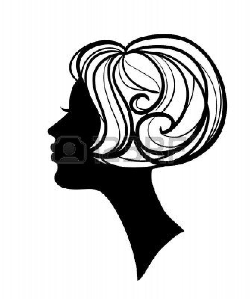 1005x1200 Black Hair Clipart Haircut