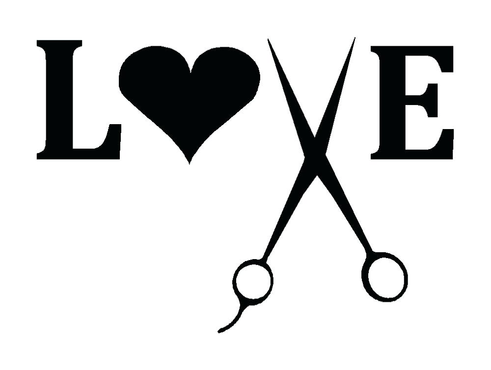 1000x754 Hair Stylist Logos Salon Love Clip Art Library Logo Online Free
