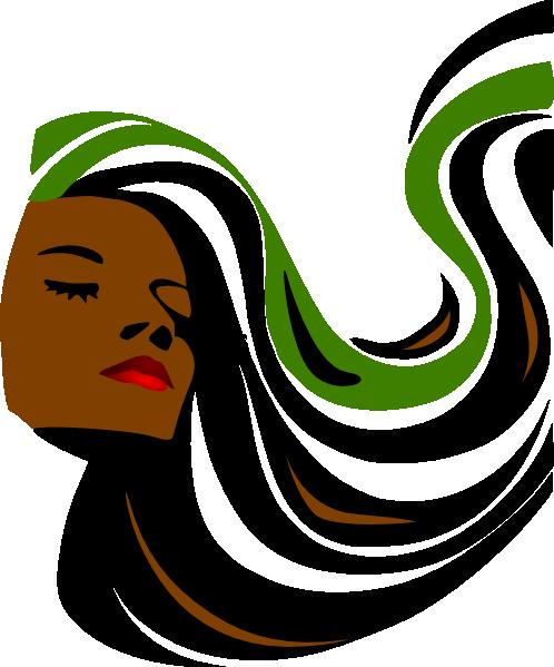 498x599 Revamp Hair Salon Clipart