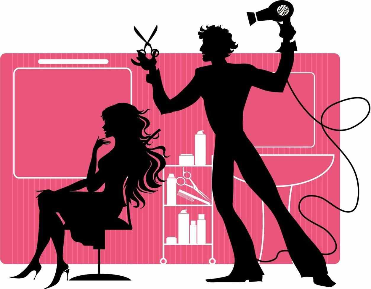 1253x978 S Hair Styling Tools Clip Art Free Download Beautician Hair