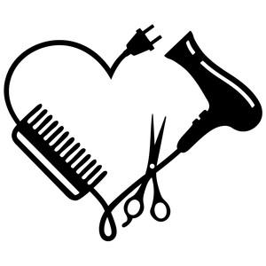 300x300 Silhouette Design Store Hair Stylist Logo Sophie Gallo Design