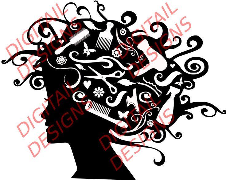 Hair Stylist Pics Clipart