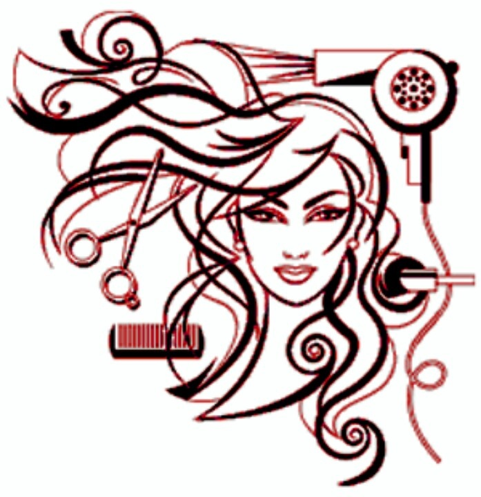 697x720 Graphics For Hair Stylist Graphics