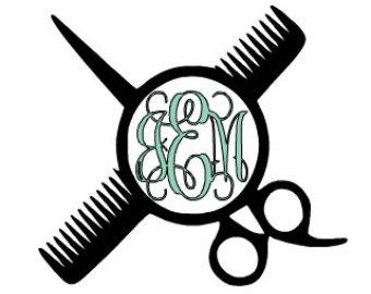 340x270 Hair Dresser Decal Etsy