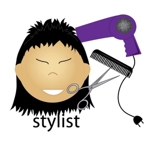 300x300 Cosmetologist Clipart Image