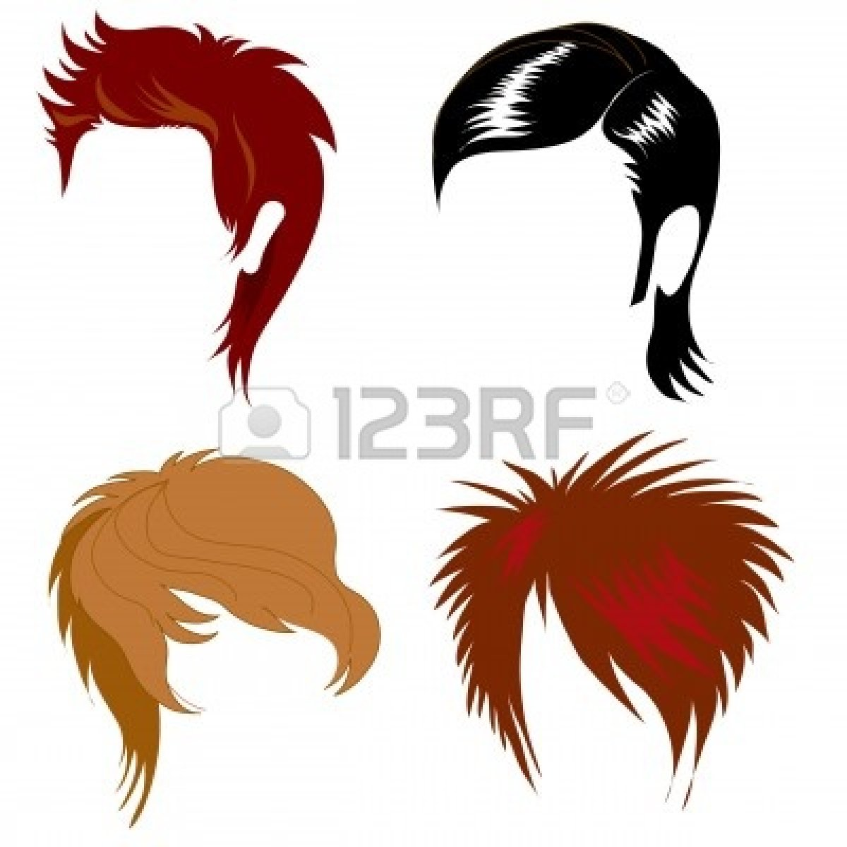 1200x1200 Man Clipart Hairstyle
