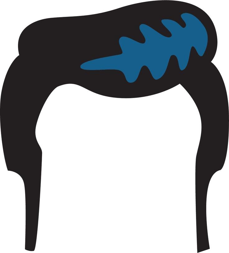 736x813 Black Hair Clipart Haircut