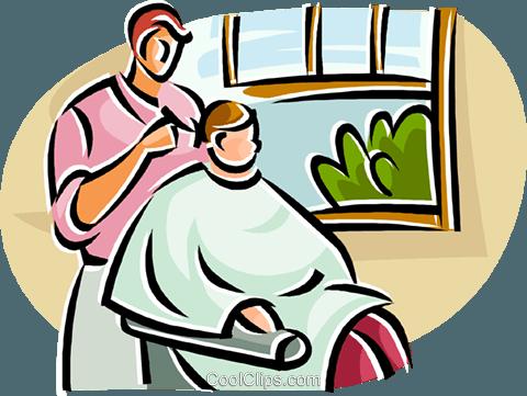 480x361 Man Getting His Hair Cut