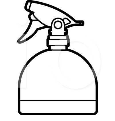400x420 Clipart Images Of A Hair Spray Bottle