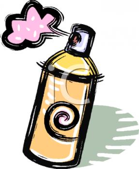 287x350 Hairspray Clipart