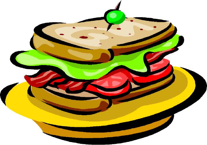 Half Sandwich Clipart
