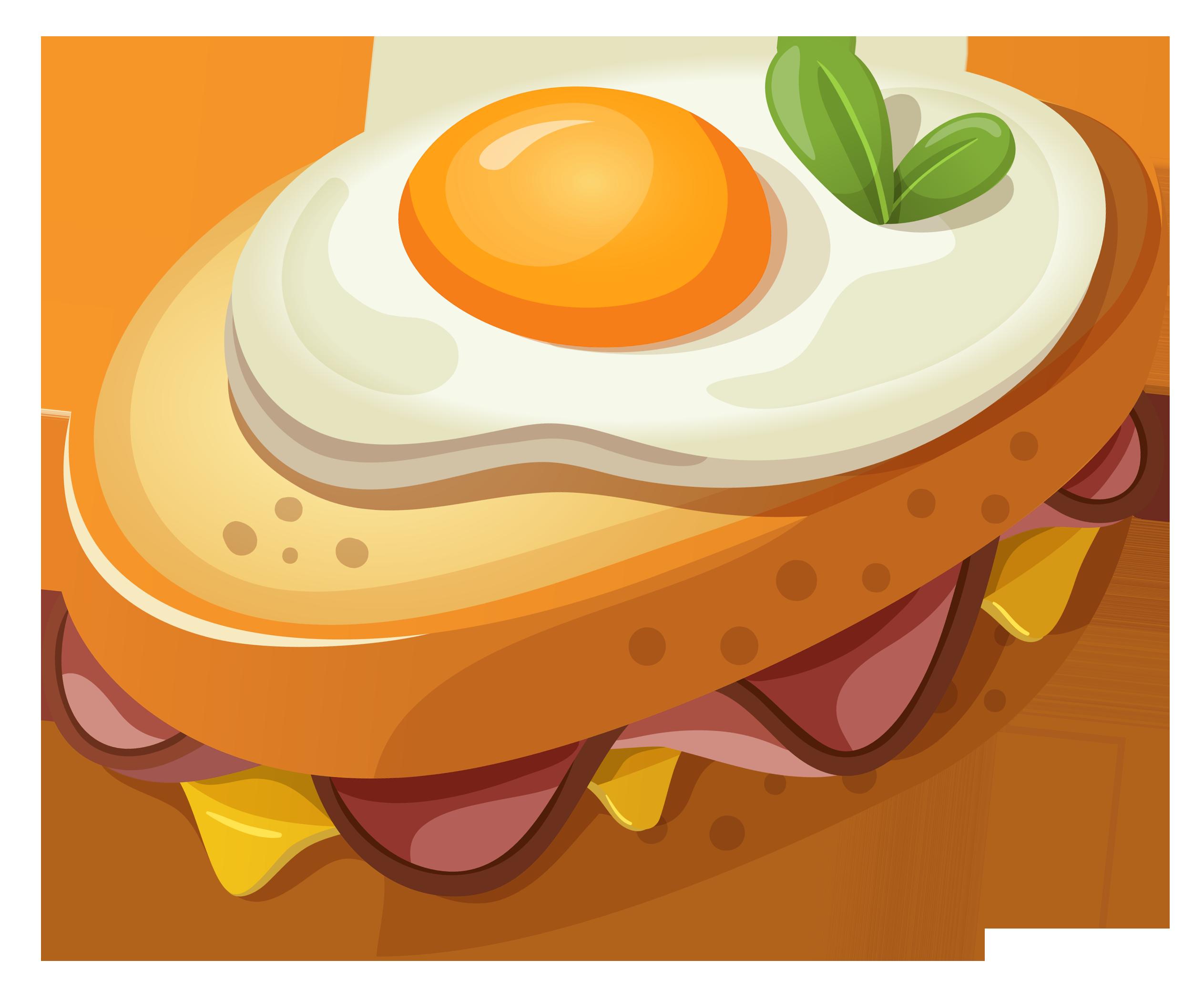 2526x2078 Fried Egg Clipart Egg Sandwich