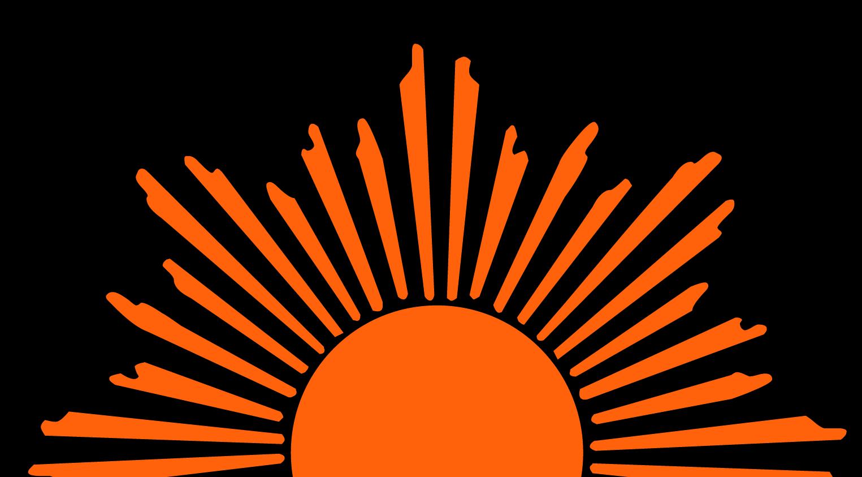 Half Sun Clipart