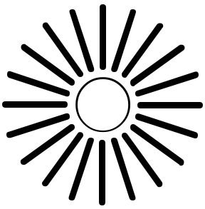288x293 Sunshine Clipart Sun Ray