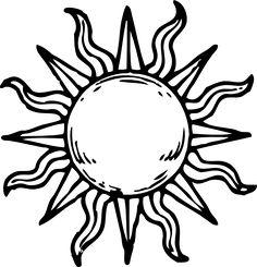 236x245 Half Sun Clipart Outline