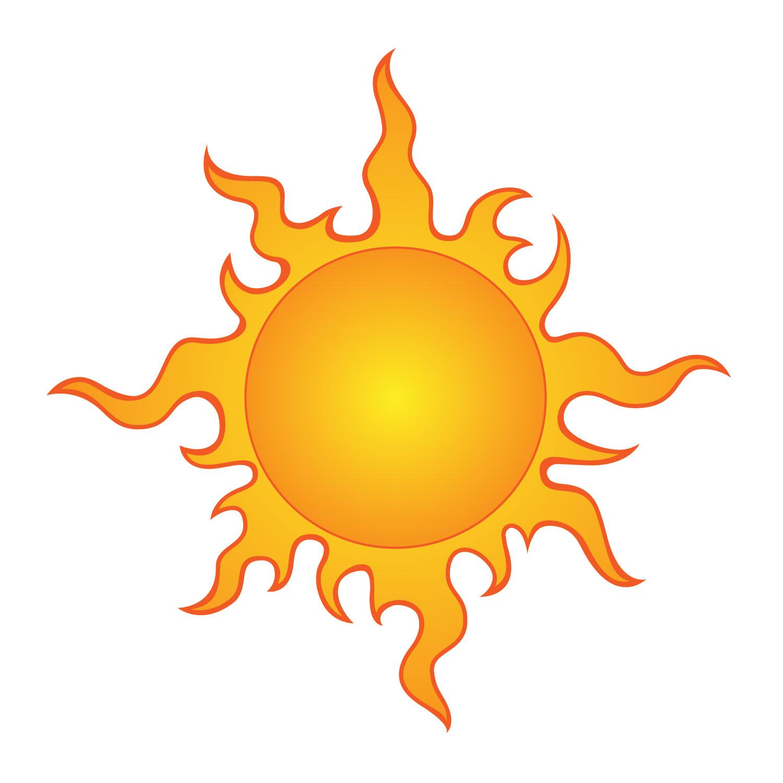 1500x1500 Half Sun Clipart