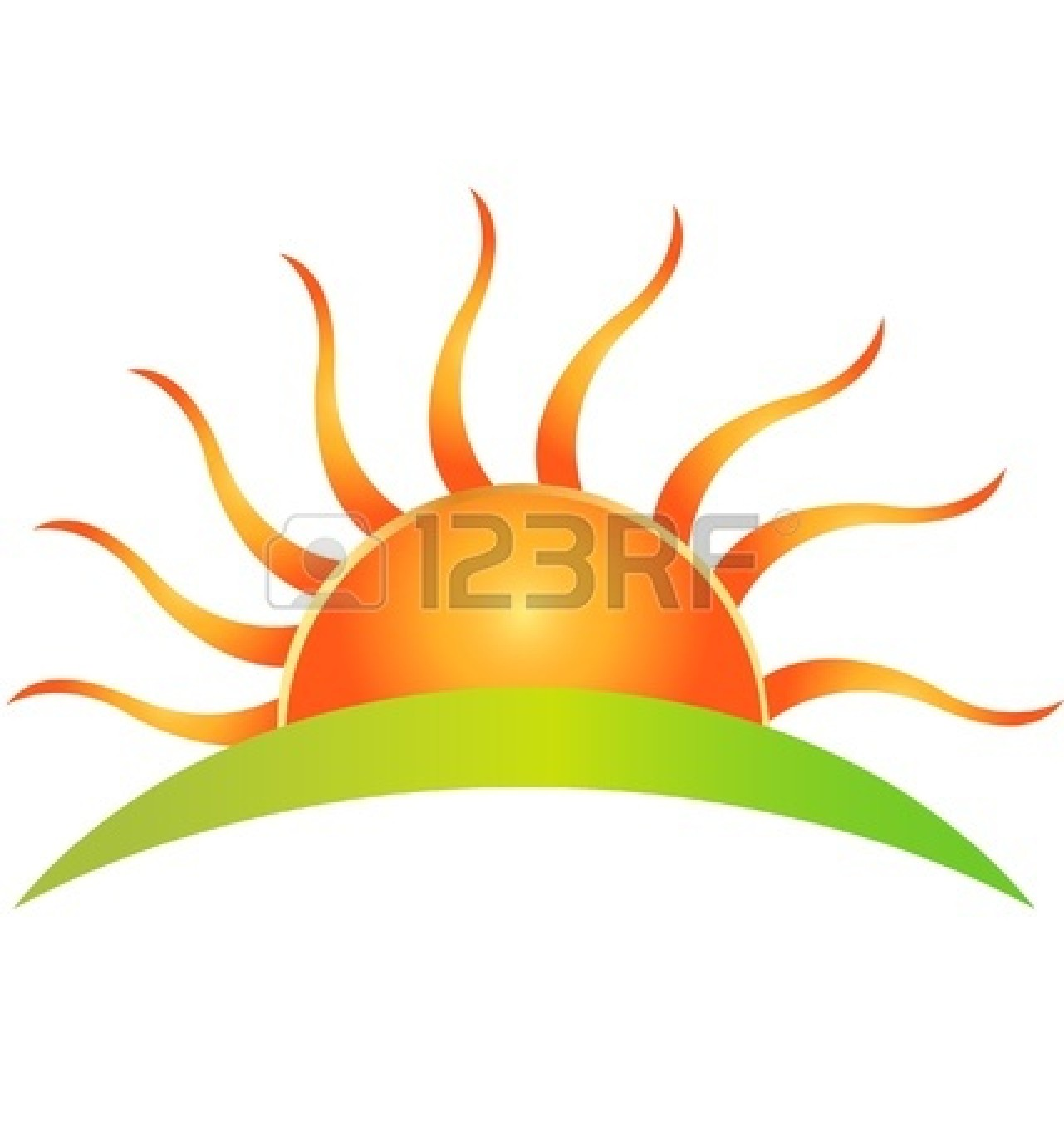 1281x1350 Half Sun Logo Clipart Panda