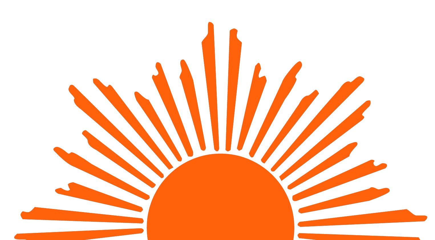 1525x843 Half Sun With Rays Png Transparent Half Sun With Rays.png Images