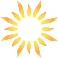 200x200 Sun Logo Clipart