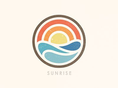 400x300 Best Sun Logo Ideas Sunrise Logo, Waves Logo