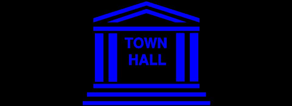 960x350 Town Hall Clip Art