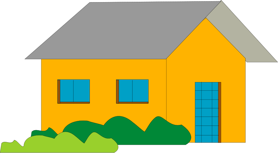 900x496 Town Hall Building Clipart Image