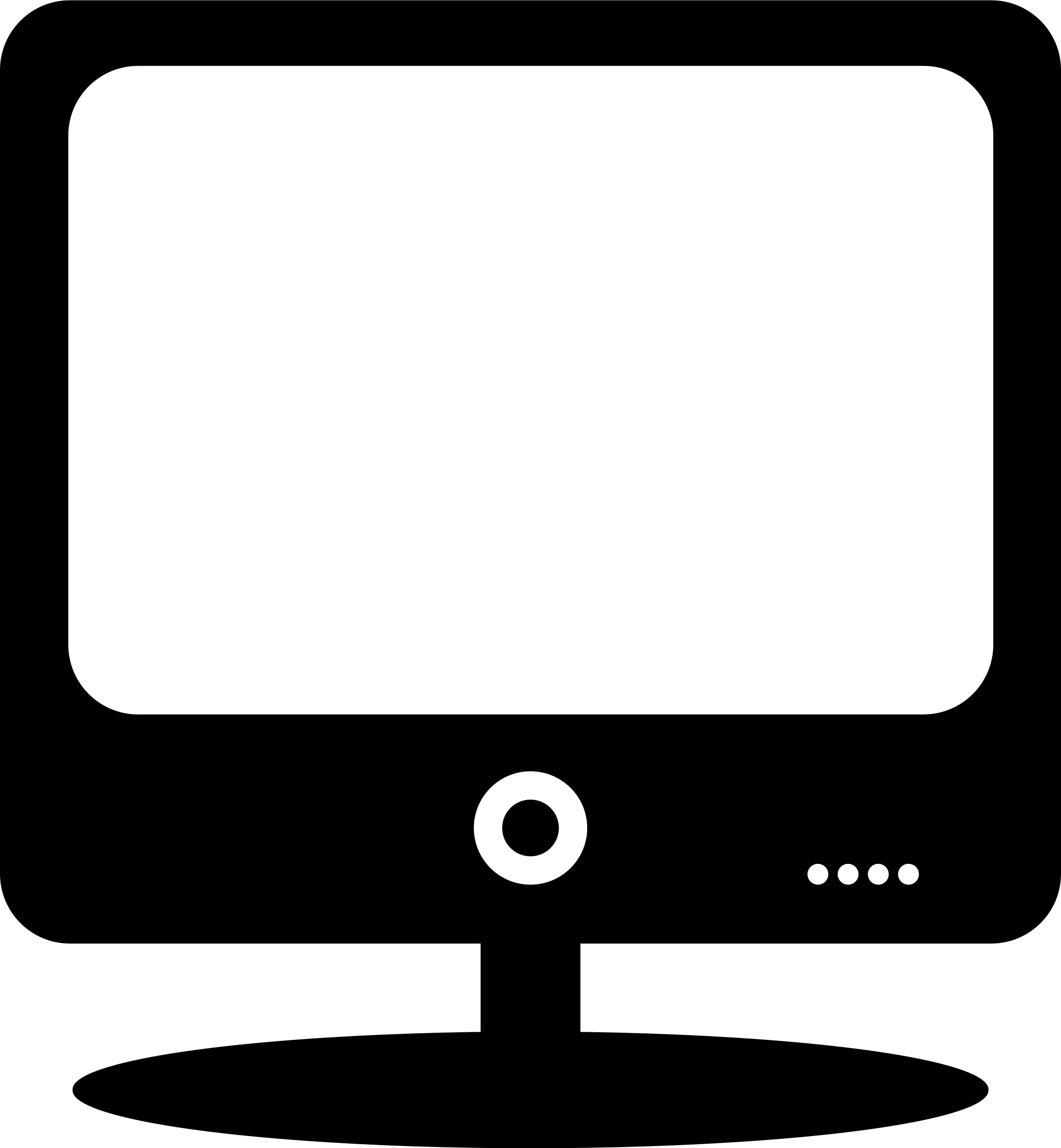 2219x2400 Monitor Icon Cliparts