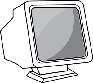 300x266 Book Clipart Monitor