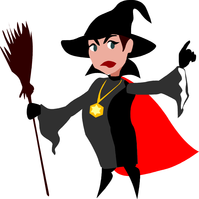 700x698 Clipart Witch