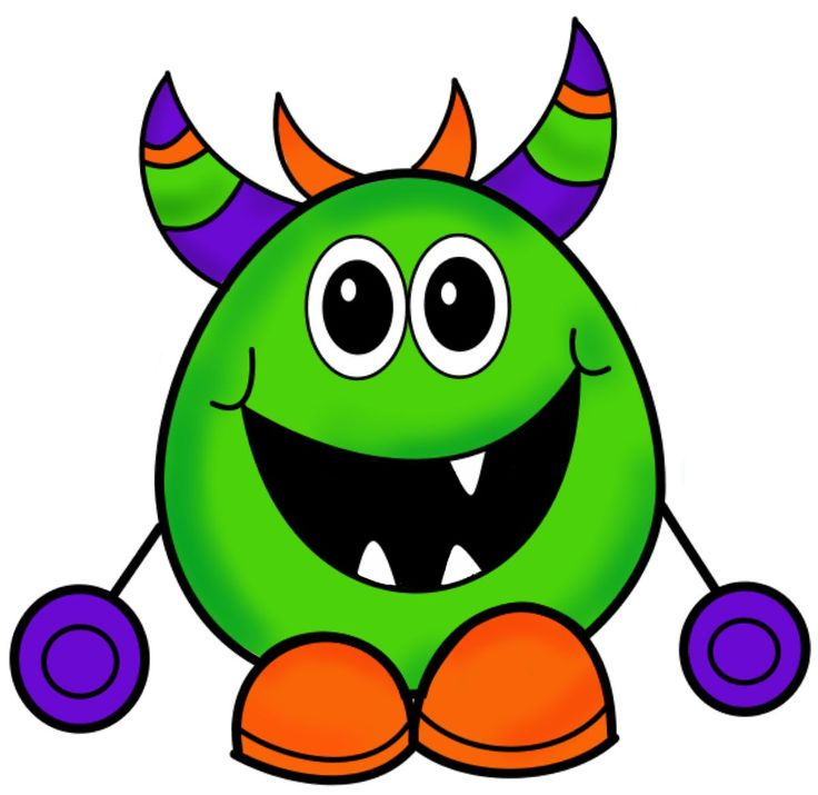 736x715 Funky Clipart Baby Monster