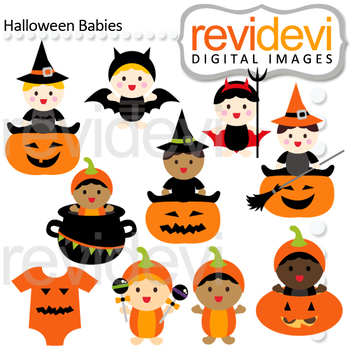 350x350 Halloween Clipart Bundle Halloween Baby Sock Monkey Clip Art By