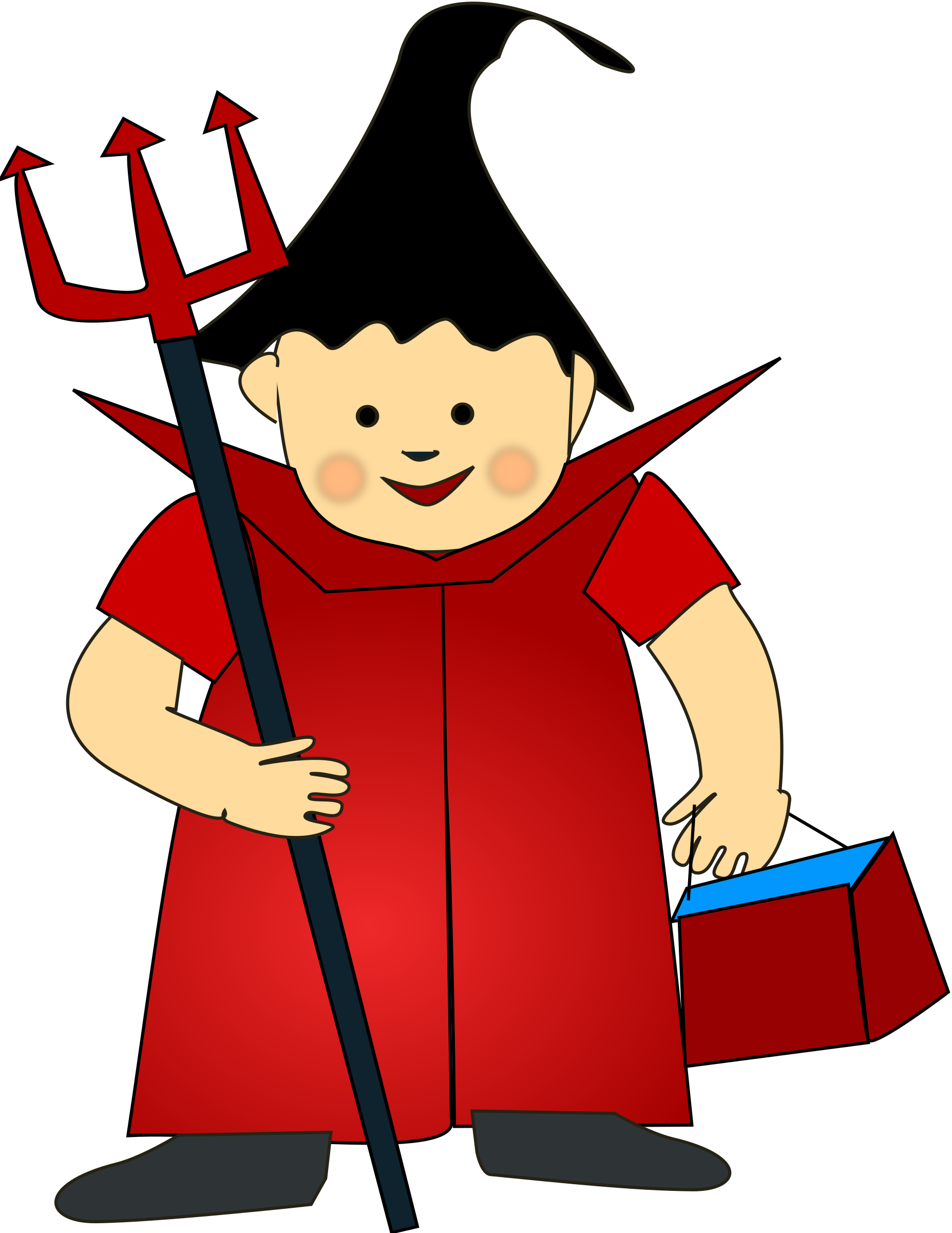 1854x2400 Halloween Costume Clipart